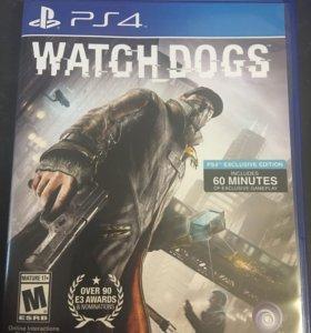 Игра на PS4 Watch Dogs