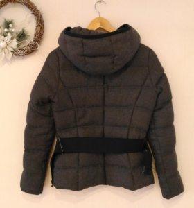 Куртка пуховик Zara 42 44 женская