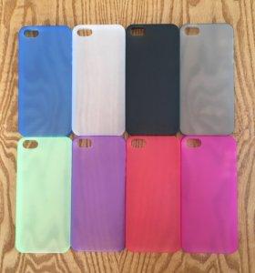 Ультратонкие чехлы для iPhone 5/5S/5SE