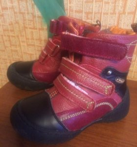 Натуральные зимние ботинки.