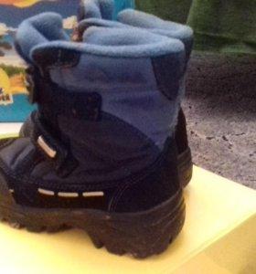 Зимние ботиночки на мальчика