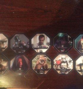 Космо-жетоны Звездные войны