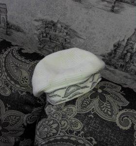 теплая шапочка—беретик