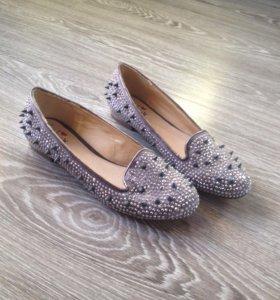Балетки женские, макасины, туфли