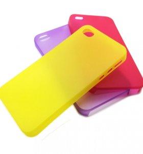 Ультратонкий чехол iPhone 4/4s (полипропилен)