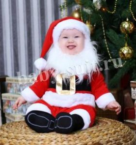 Новогодний костюм Санта-Клауса