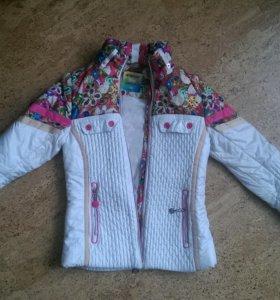 Осенняя курточка на девочку рост 140-146