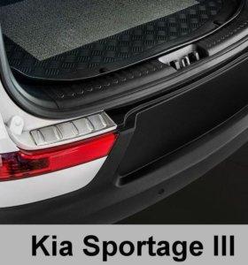 Спойлер заднего бампера KIA Sportage