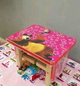 Кукольные столики со стульчиками