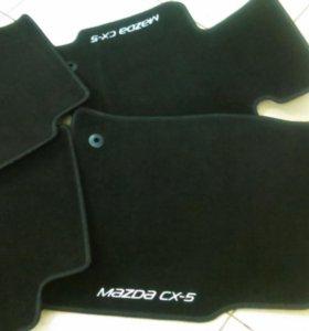 Новые оригинальные коврики на Mazda Cx-5