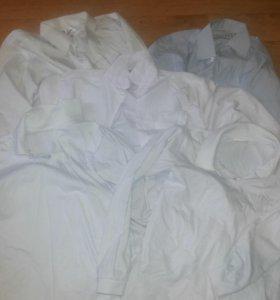 Рубашки школьные 7 шт