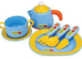 Новый в упаковке  игрушка набор игрушечной посуды