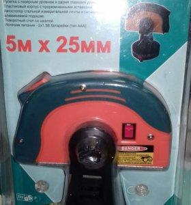 Рулетка 5м х 25мм