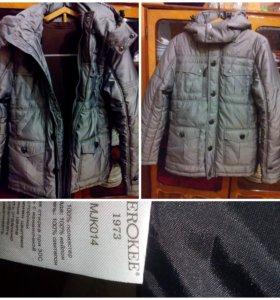 Новая зимняя куртка 48рр