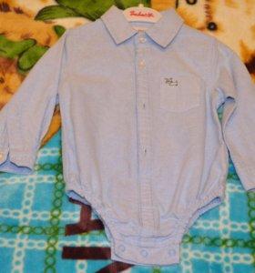 Рубашка (рубашка-боди) 74 р