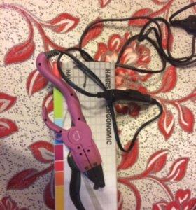 Горячие щипцы для наращивания волос