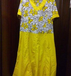 Платье летнее 56-58рр