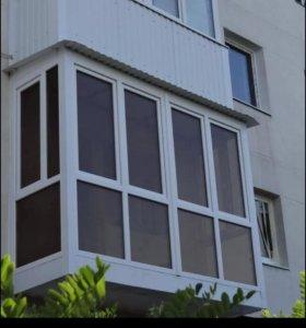 Окна,Балконы Любой Сложности.Откосы.МОСКИТНЫЕ СЕТК