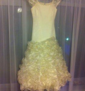 Выпускное платье на девочку 7-10 лет