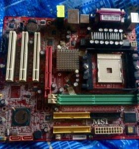 Материнская плата MSI Model MS-7181