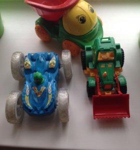 Машинка -перевёртыш , новый трактор