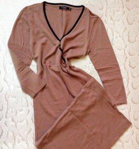 Платье Insity коктейльное пудрового цвета р. 40-42