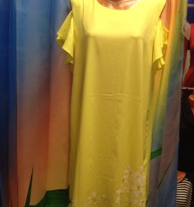 Платье новое!р.50,52,54,56 возможен обмен!лен !