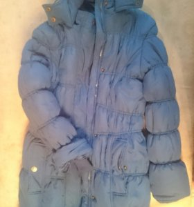 Тёплая куртка на зиму