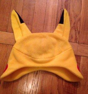 Флисовая шапочка Пикачу