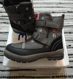 Новые зимние ботинки Mursu