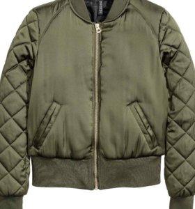Бомбер куртка hm