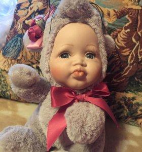 Коллекционная кукла - мышка