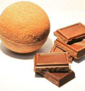 Бомбочка для ванн (шоколад)