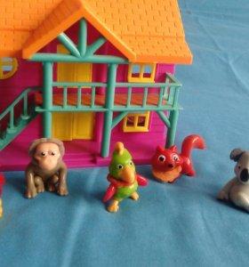 Киндер игрушки- животные