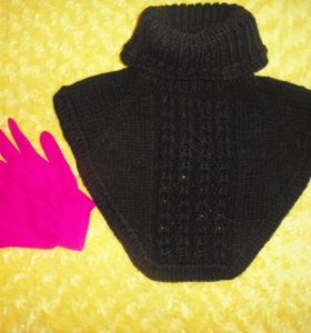 Манишка+перчатки