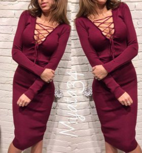 Платья со шнуровкой