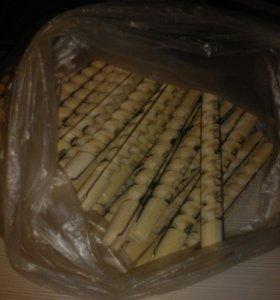 Спиральные деревянные бигуди