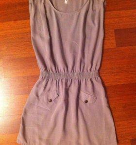 Платье глория джинс цвет хаки S