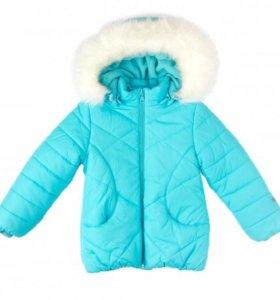 Комплект куртка и полукомбинезон новый, р.98