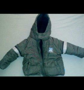 Зимняя куртка 6-9 м