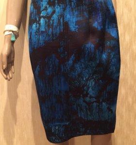 Новая облегающая юбка ZARA (размер L)