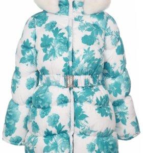 Новое зимнее пальто 104 см
