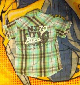 Рубашки на мальчика 110
