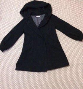 Пальто лёгкое шерстяное новое