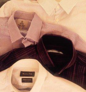 Рубашки мужские S