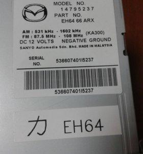 Штатная магнитола от автомобиля Мазда СХ7