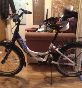 Велосипед для девочек  от 6  до 10 лет
