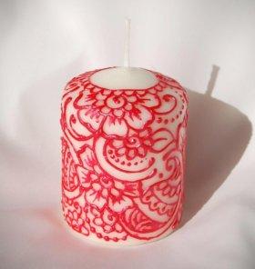 Свеча декоративная.