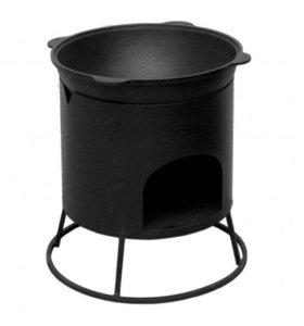 Печь малая под казан 12 литров