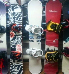 Продажа - прокат сноубордов и горных лыж